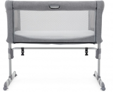 Joie Side bed Roomie Gray Flannel