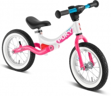 Puky 4085 LR Ride Splash balance bike white/pink