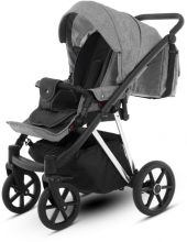 Knorr Luzon Silver Edition pram and stroller graphite