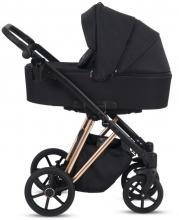 Knorr Luzon Rosegold Edition pram and stroller black