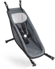 Croozer Baby seat Kid for models from 2014 onwards Graphite blue/white