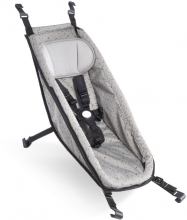 Croozer Baby seat Kid for models from 2014 onwards Stone grey/colored