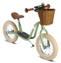 Puky 4067 Learners bike LR XL Classic vintage green incl. bell and basket