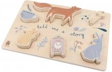 Sebra Chunky wooden puzzle Daydream