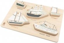 Sebra Chunky wooden puzzle Seven Seas