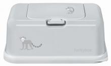 Funkybox for wet wipes light grey Funky Monkey matte