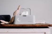Funkybox for wet wipes jeans blue Tiger matte