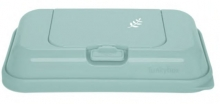 Funkybox To Go for wet wipes mint blue Leaves
