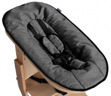 DawOst tiSsi® Baby seat attachment for high chair nature anthracite