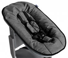 DawOst tiSsi® Baby seat attachment for high chair grey anthracite