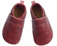 Anna and Paul leather toddler Uni ruby red size XS-16/17
