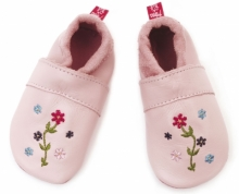 Anna and Paul leather toddler Hippie pink size L-22