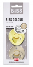 BIBS Pacifier natural rubber Sunshine/Sand 0-6m