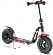 Puky 5200 R 03 L balloon scooter with air tyres and spokes black