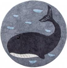 Sebra Woven floor mat Marion the Whale