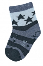 Sterntaler ABS crawling socks Stars navy blue 21/22