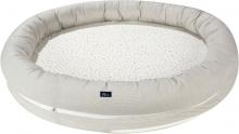 Alvi Sleeping nest XL Aqua Dot without carry bag