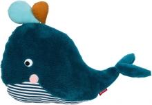 Sigikid 39329 Pillow whale Urban Wildlife