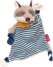 Sigikid 39195 Comforter Raccoon blue