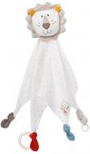 Fehn 056037 Cuddle cloth Lion fehnNATUR Deluxe