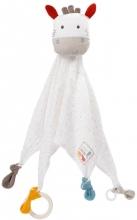 Fehn 056044 Cuddle cloth Zebra fehnNATUR Deluxe