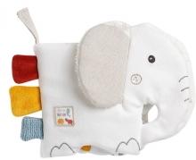 Fehn 056099 Fabric book Elephant fehnNATUR