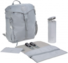 Lässig Green Label Outdoor changing backpack grey