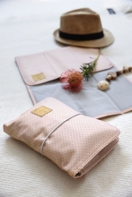 Lässig Casual Changing Pouch dots rose