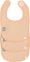 Lässig Newborn bib peach 3pcs.