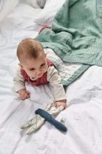 Lässig Knitted toy with rattle Garden Explorer Dragonfly blue