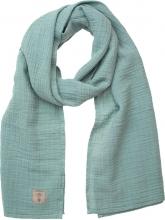 Lässig Muslin nursing scarf green 70x230cm
