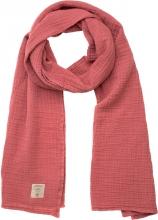 Lässig Muslin nursing scarf rosewood 70x230cm