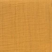 Lässig Muslin nursing scarf mustard 70x230cm