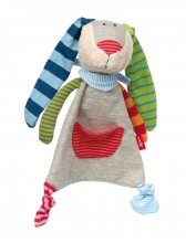 Sigikid 41274 Cuddle cloth Ringel Ding rabbit