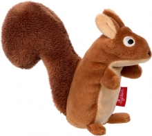 Sigikid 42538 Rattle squirrel RedStars