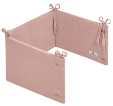 Zöllner Cot Bumper 180cm Terra dusty rose