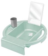 Rotho Kiddy Wash washing-station swedish green/white/stone grey