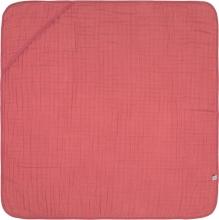 Lässig Muslin hooded towel rosewood