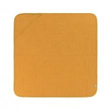 Lässig Muslin hooded towel mustard
