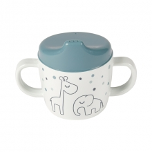 Done by Deer Spout Cup Dreamy Dots blue
