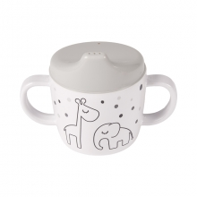 Done by Deer Spout Cup Dreamy Dots grey