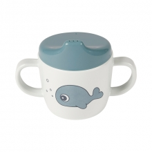Done by Deer Spout Cup Sea Friends blue
