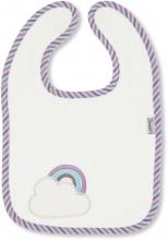 Sterntaler Bib with velcro fastening Pauline Rainbow