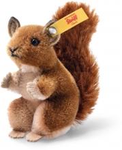 Steiff 033001 Wildlife Giftbox Squirrel Mohair brown - Collectors Item
