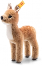Steiff 033568 Wildlife Giftbox Fawn Mohair brown - Collectors Item