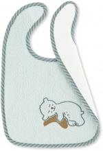 Sterntaler Bib with water-repellent inlay Ben mint