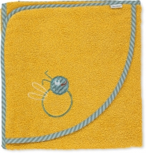 Sterntaler Hooded bath towel Bee 100x100