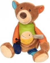 Sigikid Soft multifunctional plush toy Bear PlayQ