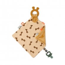 Done by Deer Comfort teether Raffi mustard