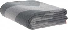 Lässig Yoga Knitted Blanket GOTS grey 130 x 170 cm